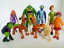 Scooby Doo Action Figure  Articulated Fixed Lot X9 Hanna Barbera Toys