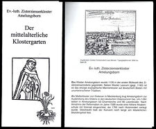 tour. Prospekte (2), Amelungsborn, Ev.-luth. Zisterzienserkloster, um 1998