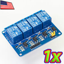 [1x] 4 Channel 240V 10A Relay Module Board and Shield AC DC Arduino Raspberry Pi