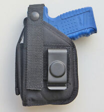 Hip Belt Holster with Built-in Magazine Pouch for WALTHER P22 with Laser