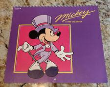 Vtg Disney's Mickey A 1990 Calendar