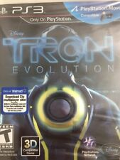 PlayStation 3 PS3 : Disney TRON Evolution  - Walmart Exclusive Clu & Flynn Skins