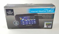 Sharper Image 5-day Forecast Internet Weather Station EC-WS115A, Open Box