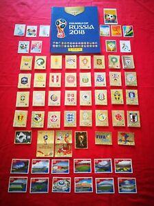 Panini FIFA WORLD CUP RUSSIA 2018 album + complete set 682+macdonalds Portugal