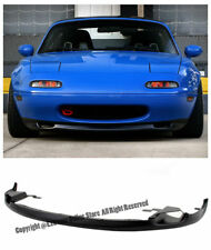 For 90-97 Mazda Miata MX5 NA JDM RS R-Package Front Lower Bumper Lip Splitter