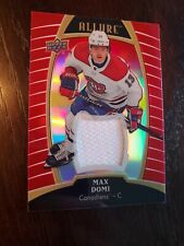 19/20 Allure Max Domi #15 Red Rainbow Jersey