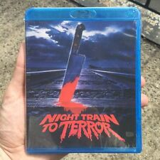 NIGHT TRAIN TO TERROR (new Blu-ray/DVD direct from Vinegar Syndrome)