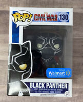 Funko Pop Black Panther Civil War Walmart Exclusive #130 Chadwick Boseman K012