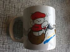 New 1991 Dayton-Hudson Santa Bear & miss bear & Bully Bear music mug