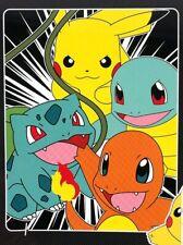 Nintendo Pokemon Fleece Throw Blanket Pikachu Squirtle Charmander NEW