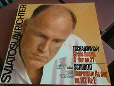 Svjatoslav Richter: Tchaikovsky: Schubert: VINILE LP: melodia florilegio