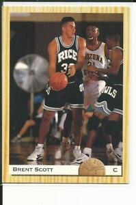 BRENT SCOTT - 1993 CLASSIC DRAFT #66 - RICE