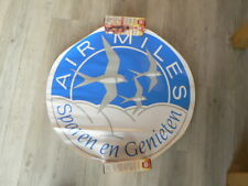 STICKER,DECAL AIRMILES SPAREN EN GENIETEN BIG SIZE STICKERS ARE ROLLED UP