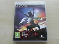 F1 2010 (Sony PlayStation 3, 2010) VGC