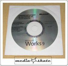 Microsoft Works 9.0, Deutsch, original in Folie versiegelt #1