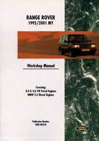 SHOP MANUAL SERVICE REPAIR BOOK LAND RANGE ROVER FACTORY WORKSHOP GUIDE 4.0 4.6