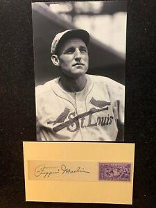 Vintage 1939 Pepper Martin St. Louis Cardinals Signed Commemorative HOF D 1965
