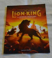 COLLECTOR Programme Festival du roi lion Disneyland Paris