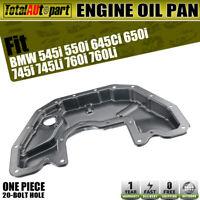 For BMW 545i 550i 645Ci 650i 745Li 745i 760Li 760i Lower Engine Oil Pan NEW