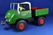Steiff: Unimog Kipper / Tipper 4916,10, 1959-64, Blech + Holz / Tin + Wood, 1:20