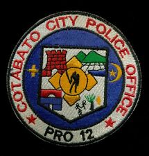 Cotabato City Philippine Philippines National Police Patch RP-2