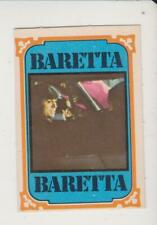 Monty Gum trading card 1978 TV Series: Baretta #31