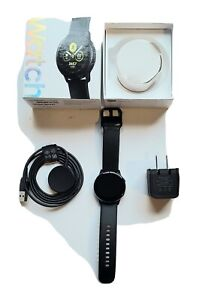 Samsung Galaxy Watch Active 40mm 4gb Black SM-R500 Smartwatch FR2991 Complete