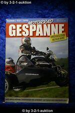 Motorrad Gespanne Nr.91 1/06 Honda GL1800 Guzzi V1100