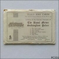 The Royal Mews Buckingham Palace 6 Tuck's Post Cards Postcard (P331)