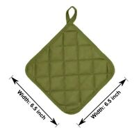 Sage Green Potholder 4 pack Kitchen and Dining