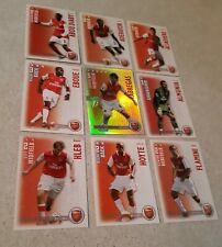 SHOOT OUT CARDS 2006/07 (06/07) - Arsenal Set of 15 Cards