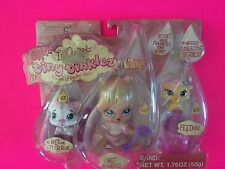 NEW BRATZ LIL ANGELZ TINY TINKLEZ CLOE BABY W/ PETS LITTER BOX FEED US WET CAT