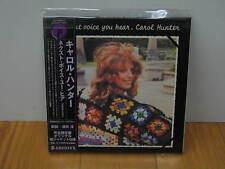 CAROL HUNTER THE NEXT VOICE YOU HEAR RARE OOP JAPAN MINI-LP CD