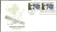 US Scott # 1557 Mariner 10 FDC, Pair. Artmaster Cachet.