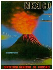 "Art Mexico Travel Poster Rare Hot New Original 12x16"" TR150"
