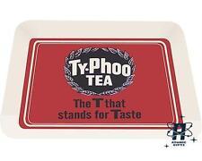 NUOVO Stile Vintage Tè Typhoo Red designtin TEA CUCINA VASSOIO
