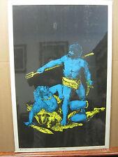 Vintage Gladiator black light poster original  #2335