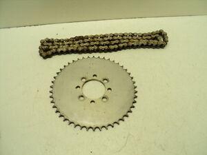 #3317 Bridgestone 50 Sport Aluminum Rear Sprocket & Chain