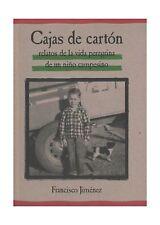 Cajas de Carton: Relatos de la Vida Peregrina de un Nino Campes... Free Shipping