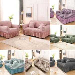 Jacquard Sofa Cover & Slip Cover For 1/2/3/4 Seater / Alternate To Sofa Throw