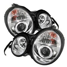 Spyder Auto 5011282 Halo Projector Headlights Fits 95-99 E300 E320 E420 E430