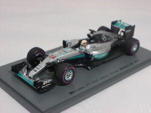 Spark Mercedes F1 W07 Hamilton winner Monaco GP 2016 1/43 S5001