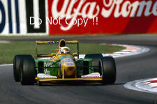 MARTIN BRUNDLE BENETTON B192 ITALIANO Grand Prix 1992 fotografia 1