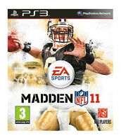 Madden NFL 11 (PS3), Very Good PlayStation 3, Sony PS3 Video Games