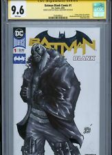 BANE Sketch cover by ALESSANDRO MICELLI CGC SS 9.6 DC BATMAN The Dark Knight