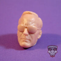"""ML096 Phil Coulson glasses Avengers Custom Cast head use with 6"""" Legends figures"""