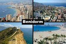 Benidorm Spain Souvenir Fridge Magnet