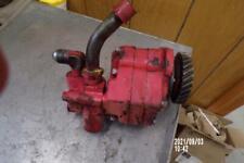 Original Massey Harris 33 44 333 Tractor Working Hydraulic Pump Mh 444 44 333 33