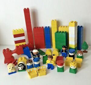 Lego Duplo Blocks & Figures 1kg Bundle Mixed Bricks (All as Per Photos)