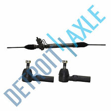 Complete Power Steering Rack and Pinion Assembly + (2) New Outer Tie Rod Ends